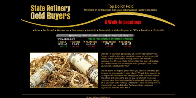 State Refinery Gold Buyers Staten Island, NY | CoinShops.org