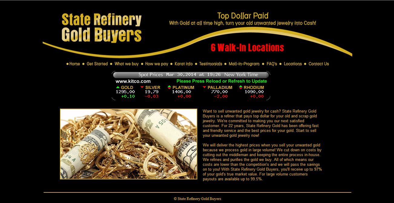State Refinery Gold Buyers Staten Island, NY | CoinShops.org
