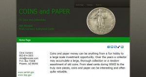 coins and paper