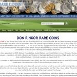 Don Rinkor Rare Coins San Francisco, CA