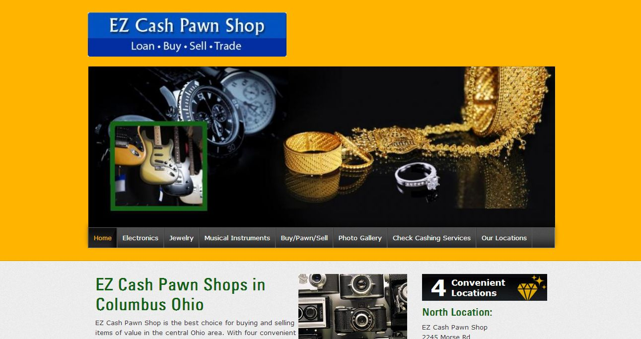 ez cash pawn shop columbus oh. Black Bedroom Furniture Sets. Home Design Ideas
