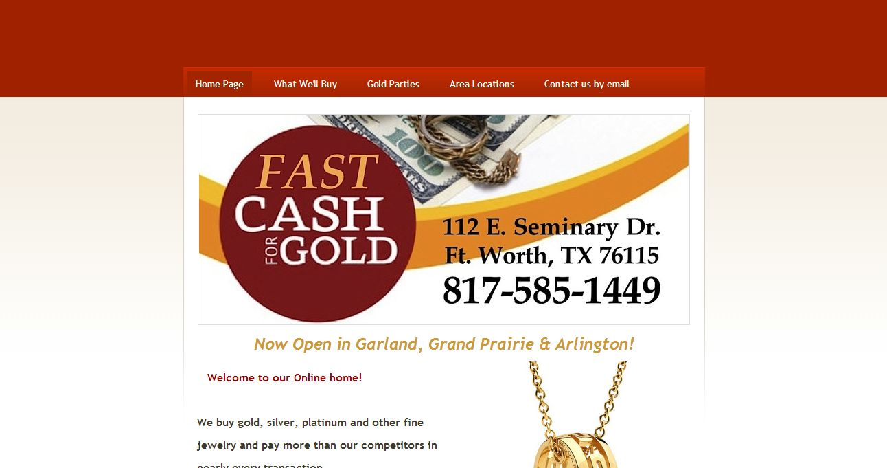 Cash For Gold in Fort Worth , TX