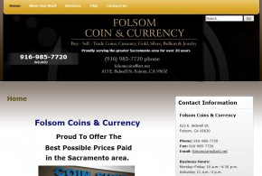 Folsom Coin and Currency Folsom, CA