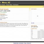 Gold Vampire Mesa, AZ