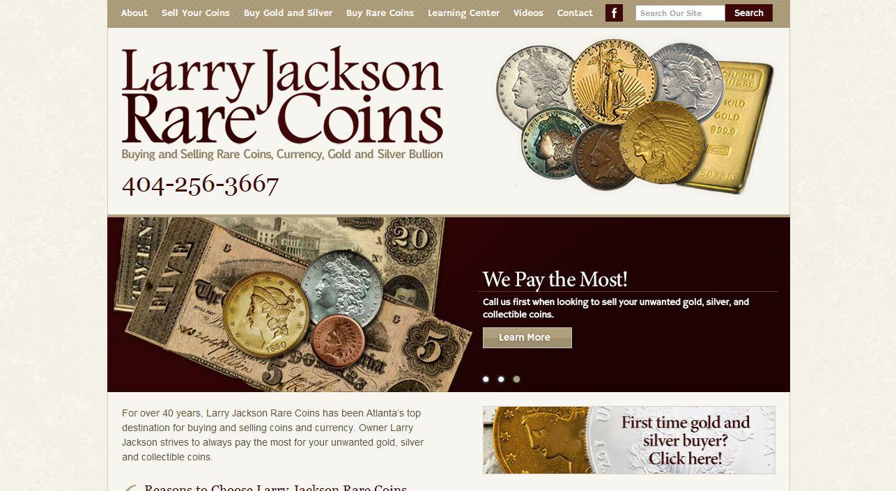 larry jackson rare coins atlanta