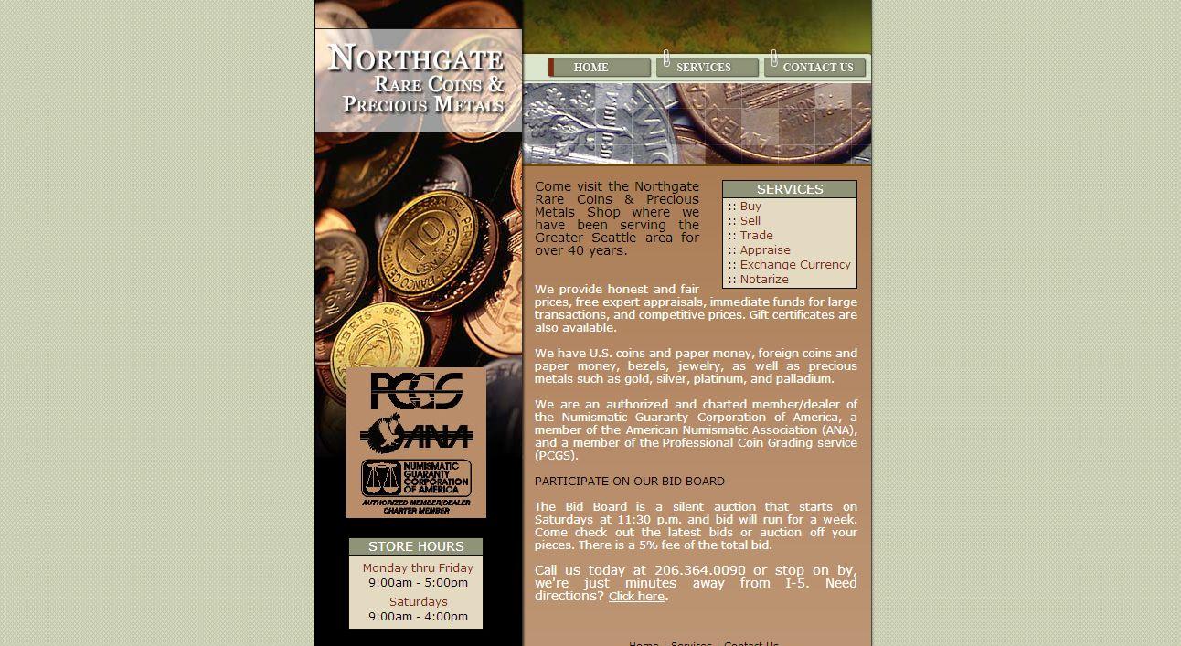 northgate rare coins seattle wa