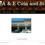 A & E Coin and Stamps Huntington Beach, CA