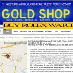 Gold Shop Chesapeake, VA