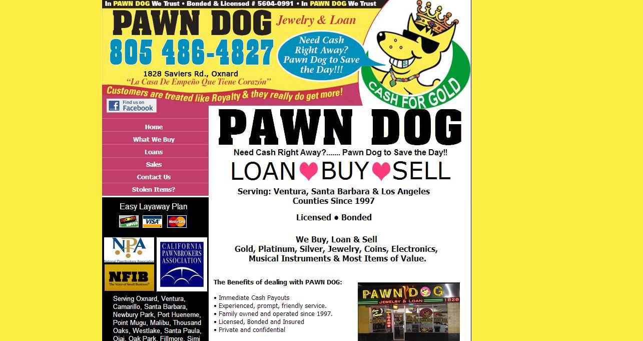 Pawn Dog Jewelry & Loan Oxnard, CA   CoinShops.org