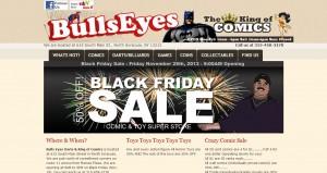 Bulls Eyes Darts & King of Comics