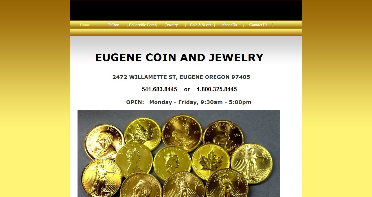 eugene coin and jewelry