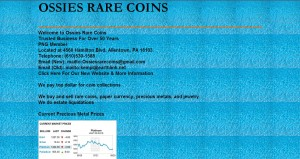 Ossies Rare Coins