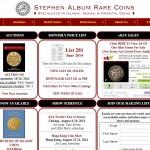 Stephen Album Rare Coins Santa Rosa, CA