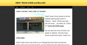 West Texas Coins and Bullion