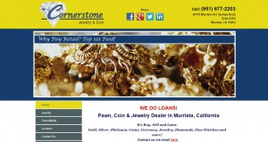 Cornerstone Jewelry & Coin