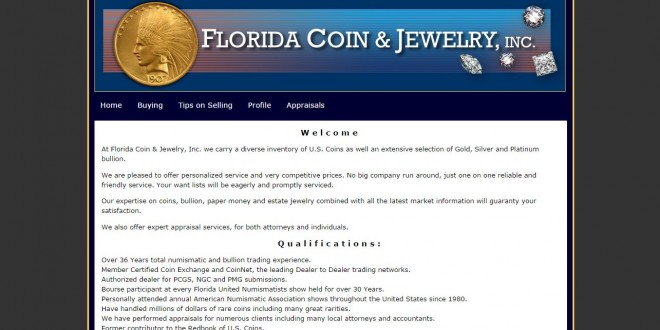Florida Coin Amp Jewelry Clearwater Fl Coinshops Org