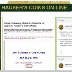 Hauser's Coin Co