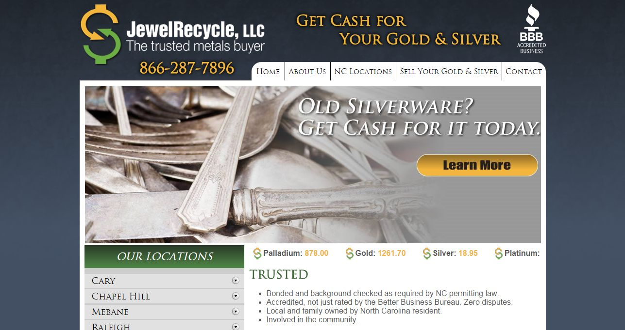 Jewelrecycle Wilmington, NC | CoinShops.org