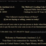 Numismatic Auctions