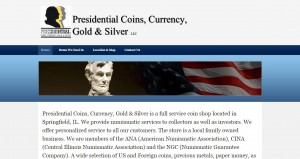 Presidential Coins Currency Gold & Silver