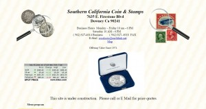 Southern Calif Coin & Stamps