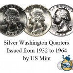 90% Silver Washington Quarters