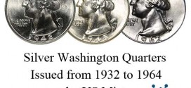 Silver Washington Quarters