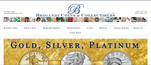 Brigandi Coins and Collectibles