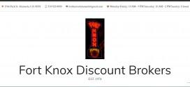 Fort Knox Discount Brokers Alameda, CA