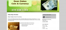 Dean Oakes Coin & Currency Iowa City, IA