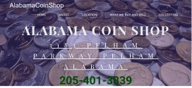 Alabama Coin Shop Pelham, AL