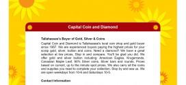 Capital Coin and Diamond Tallahassee, FL