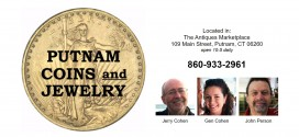 Putnam Coins and Jewelry Putnam, CT